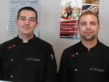 Boucher de France - Boucherie LA DÉSIRADE - Carquefou (44) - Sébastien PAPIN et Antoine GROUSSAIN
