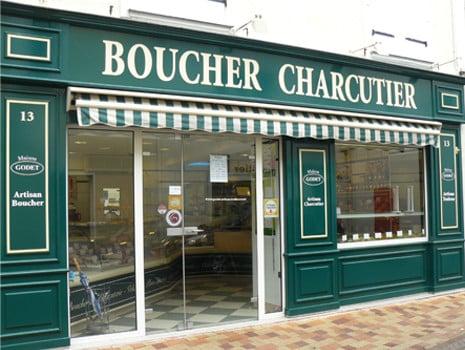 Boucher de France - Boucherie MAISON GODET - Brissac-Quincé (49) - Extérieur #1