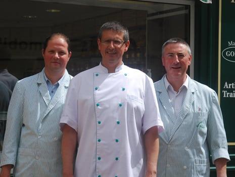 Boucher de France - Boucherie MAISON GODET - Les Rosiers sur Loire (49) - Équipe boucherie
