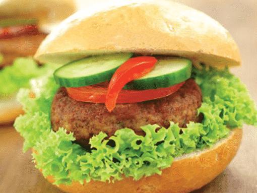 Boucher de France - Les Recettes - Hamburger de Jambon